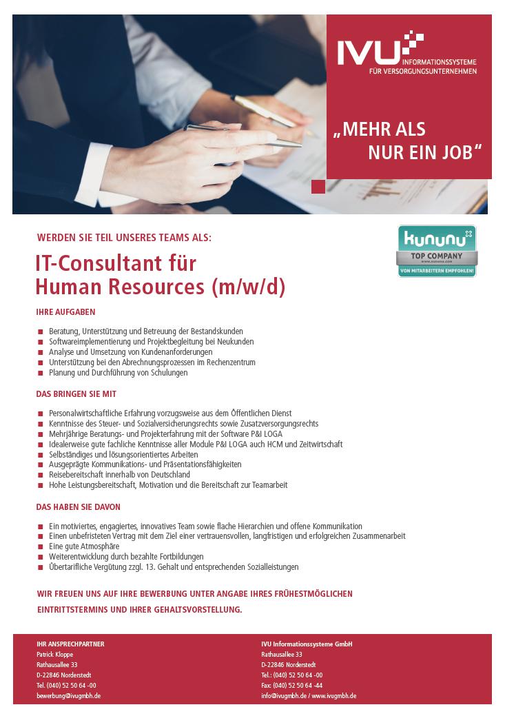 IT-Consultant HR