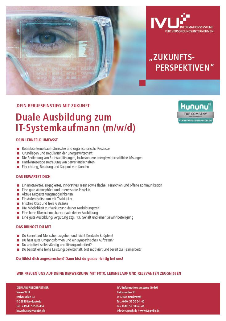 Duale Ausbildung IT-Systemkaufmann