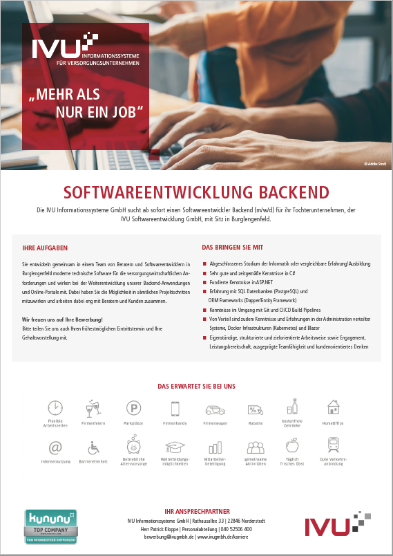 Softwareentwicklung Backend